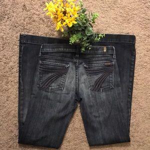 7FAM Dojo Dark Wash Jeans